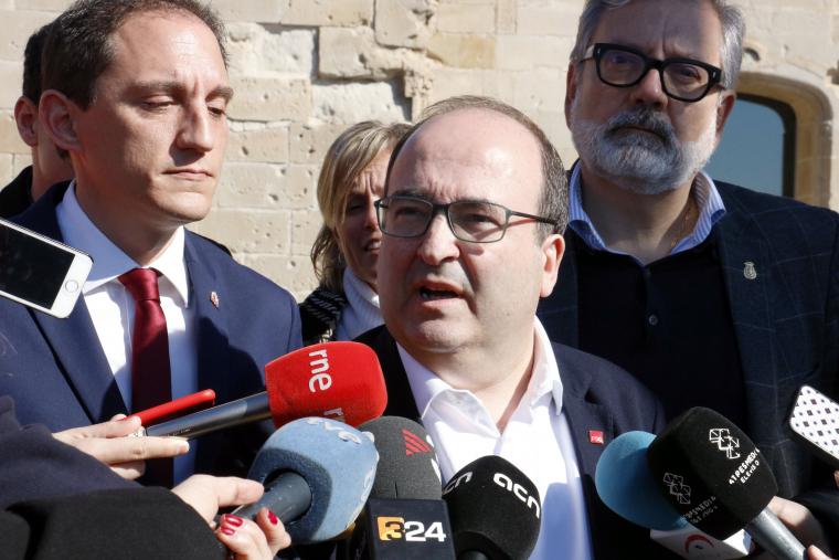 Miquel Iceta a Lleida