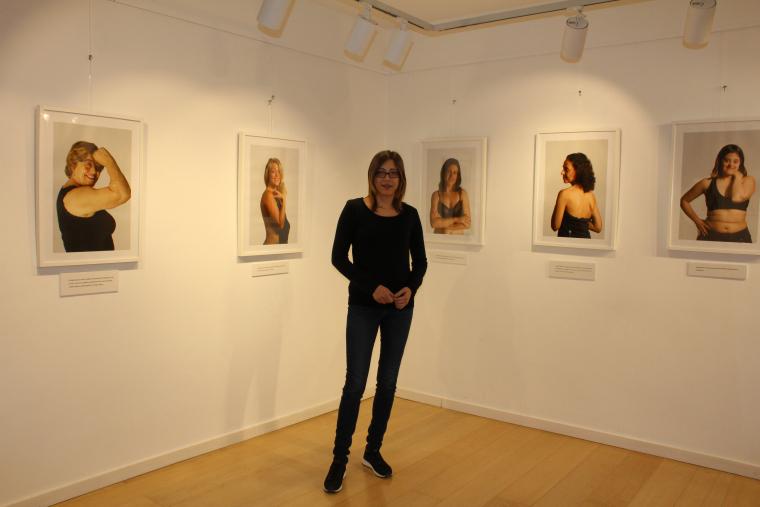 Imatge de l'exposició a l'Arnau