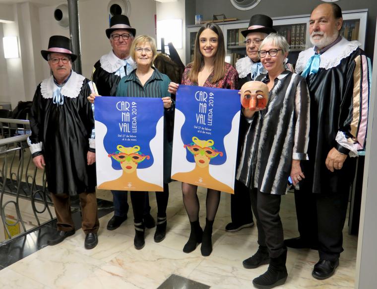 Presentació del Carnaval a Lleida