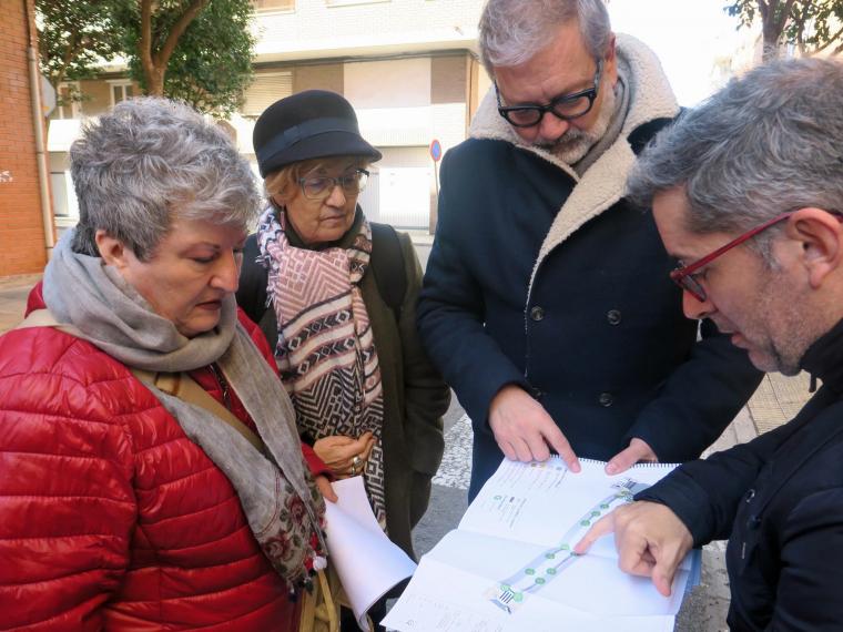 Presidenta de l'AAVV de la Bordeta