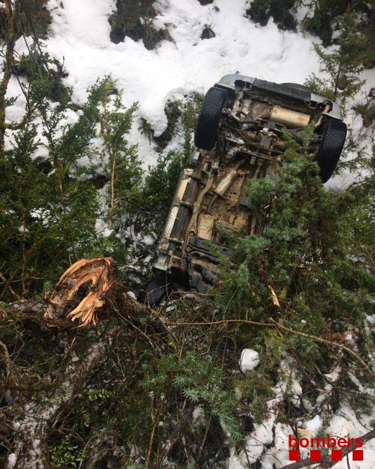 Accident a Bellver de Cerdanya