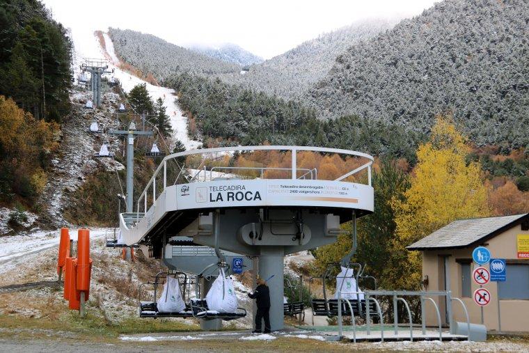 Telecadira La Roca d'Espot Esquí.