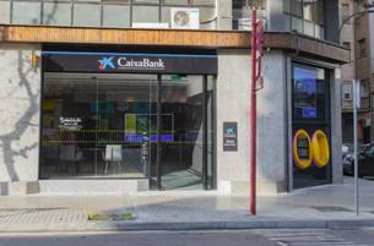Oficina de CaixaBank a Lleida