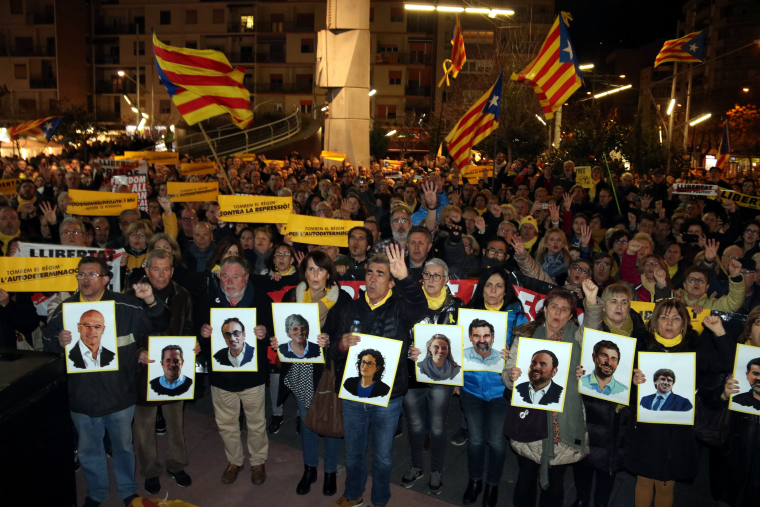 Protesta juidici presos polítics