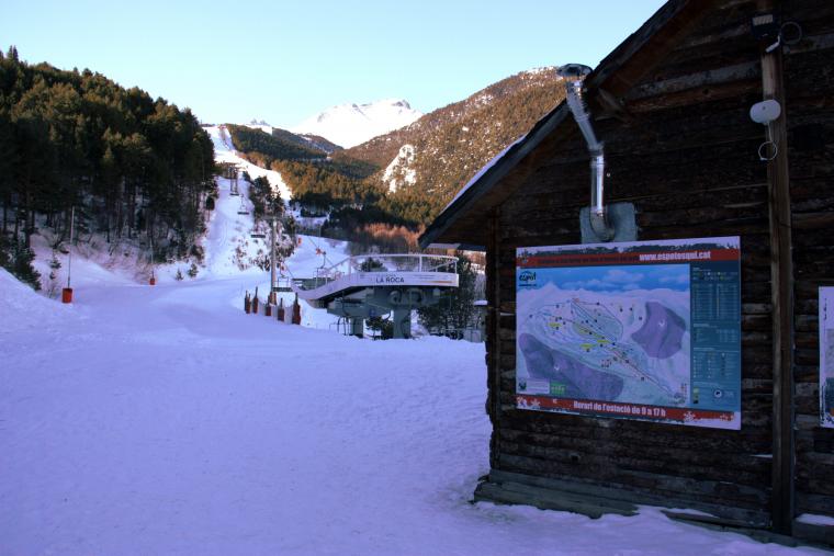 Pistes d'esquí d'Espot