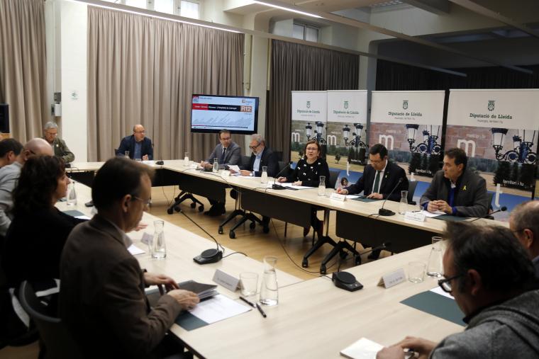 Reunió alcaldes Ponent
