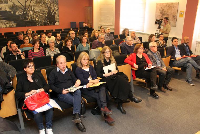 Presentació del Pla Educatiu d'Entorn 0-20 a l'Ajuntament de Tàrrega