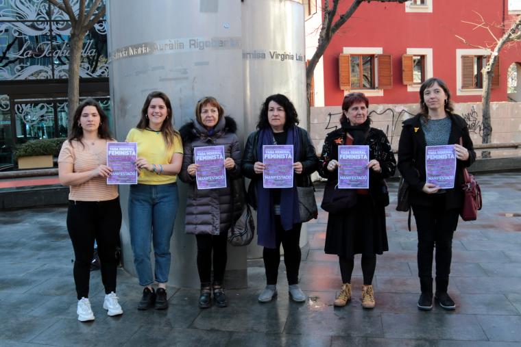 Presentació vaga feminista