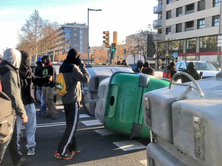 Protestes del CDR de Lleida