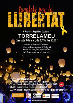 Cartell de la Festa de la República de Torrelameu