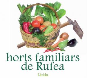 Cartell dels horts a Rufea