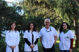 Imatge de l'equip de SQM del Santa Maria