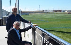 Imatge del camp de futbol de Torrefarrera