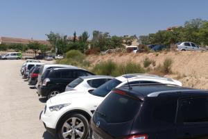 Imatge d'un aparcament a Tàrrega