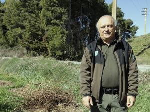 Imatge pla mig del cap dels Agents Rurals a Lleida, Llorenç Ricou