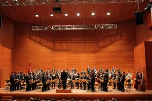 La banda a l'Auditori de Lleida
