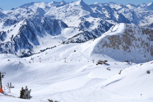 Més neu a les pistes de Baqueira