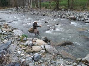 Pescador a la Val d'Aran