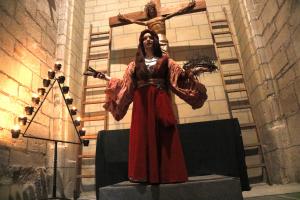 Pla obert on es pot veure el personatge de Maria Magdalena