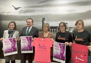 Presentació de la cursa de la dona a Lleida