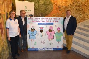 Presentació de l'acte de Mans Unides a Lleida