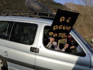 Protesta a Escalarre pel canvi d'ubicació del Doctor Music Festival.
