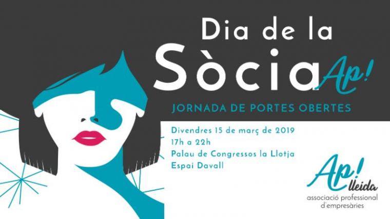 Cartell del Dia de la Sòcia d'Ap! Lleida
