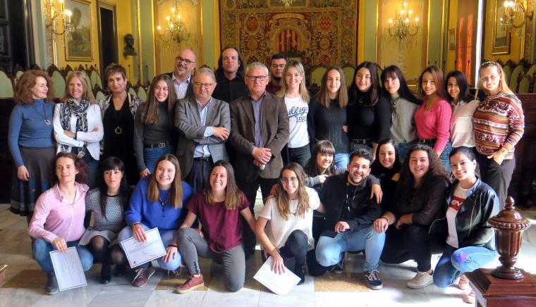 Els alumnes lleidatans que han anat al Sàhara
