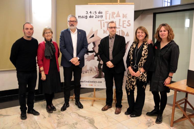 Els directors de la Fira de Titelles de Lleida