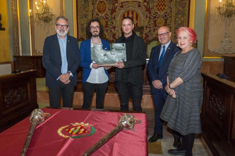 Imatge de l'entrega del premi
