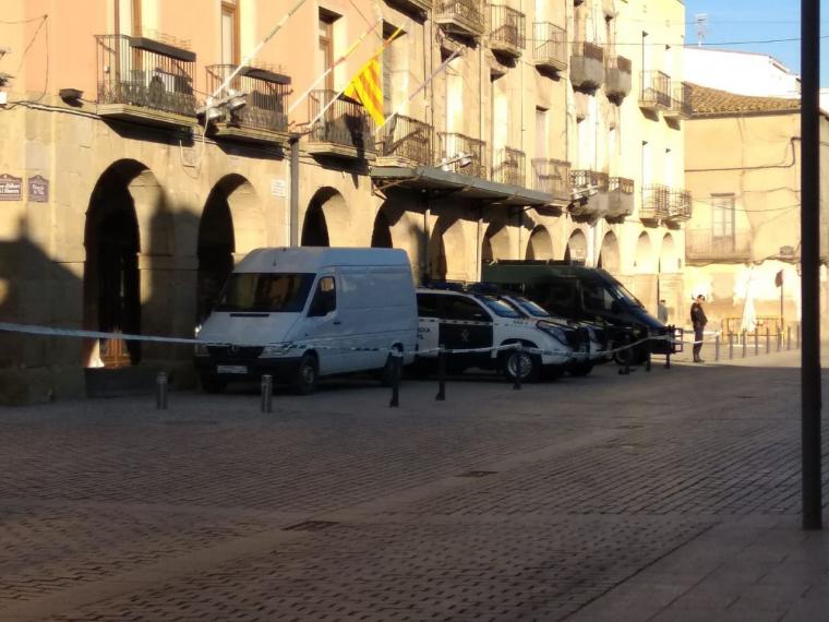 La Guàrdia Civil a Almacelles
