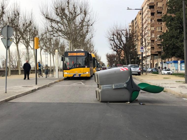 Actes de la vaga del 8M a Lleida