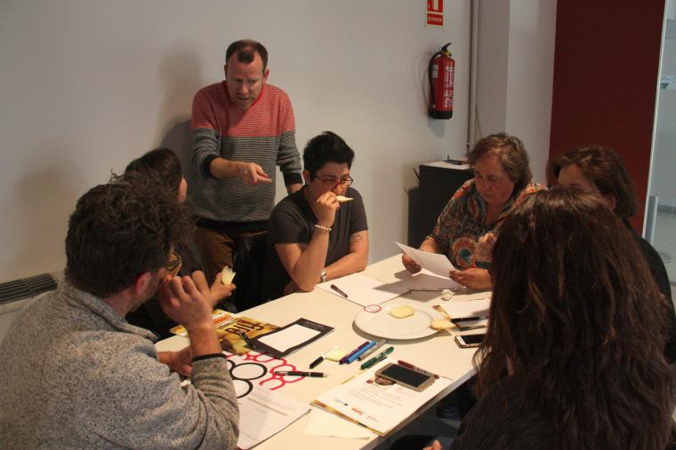 Pla general d'un grup de participants a la jornada tècnica