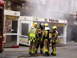 Afortunadament, els Bombers han pogut controlat el foc ràpidament.