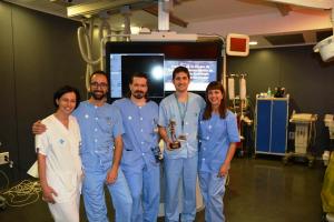 L'equip d'infermeria premiat