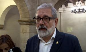 Pla mitjà de l'alcalde de Lleida, Fèlix Larrosa
