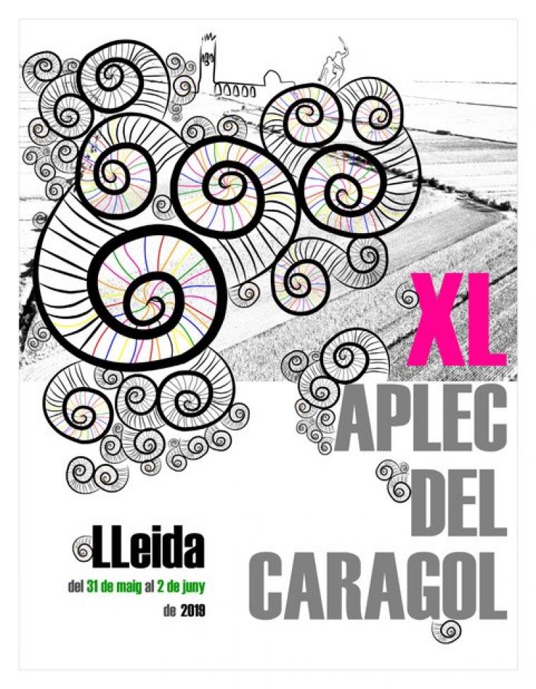 Cartell de la XL edició de l'Aplec del Caragol