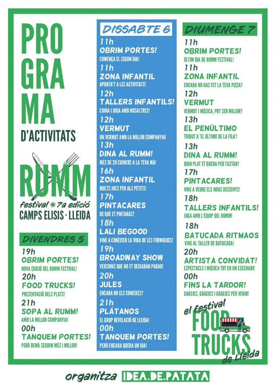 Cartell del RUMM Festival