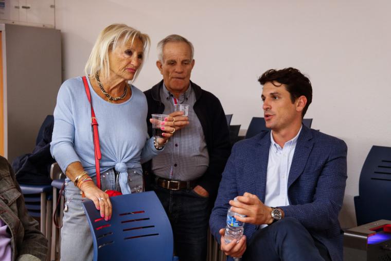 El cap de llista del PP a Lleida al Congrés, Dante Pérez