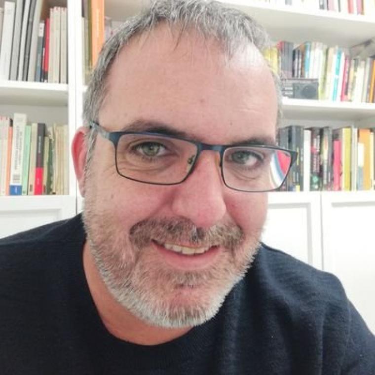 El periodista lleidatà David Marín