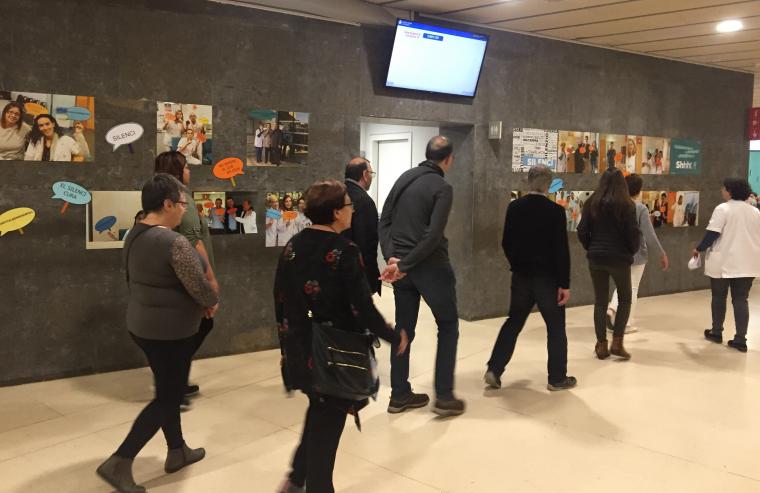 Exposició al Santa Maria