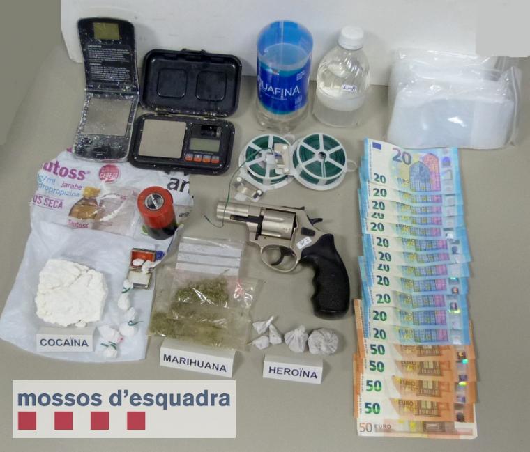 Imatge de la droga trobada