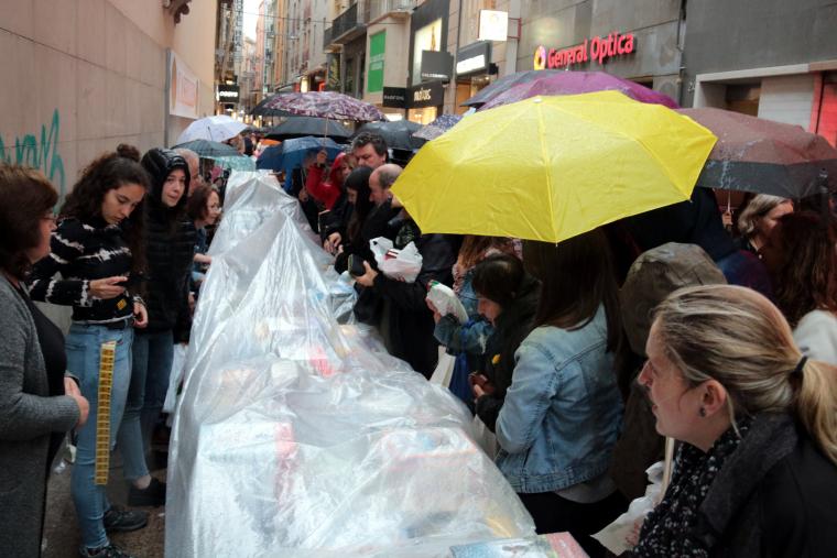 Imatge de la parada de la llibreria Caselles