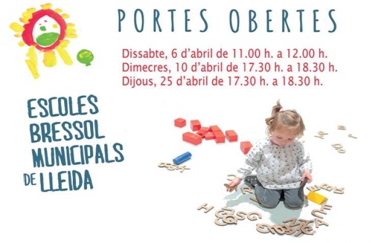 Jornada portes obertes escoles bressol de Lleida