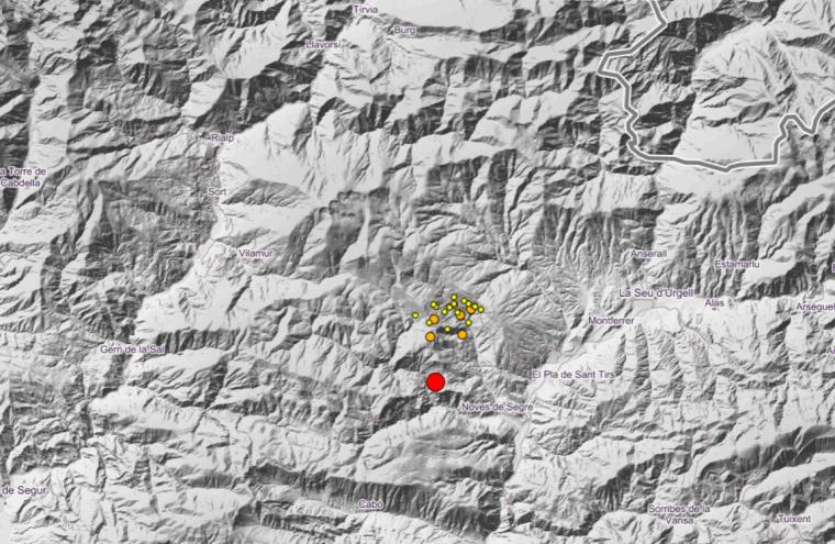 Mapa de les rèpliques