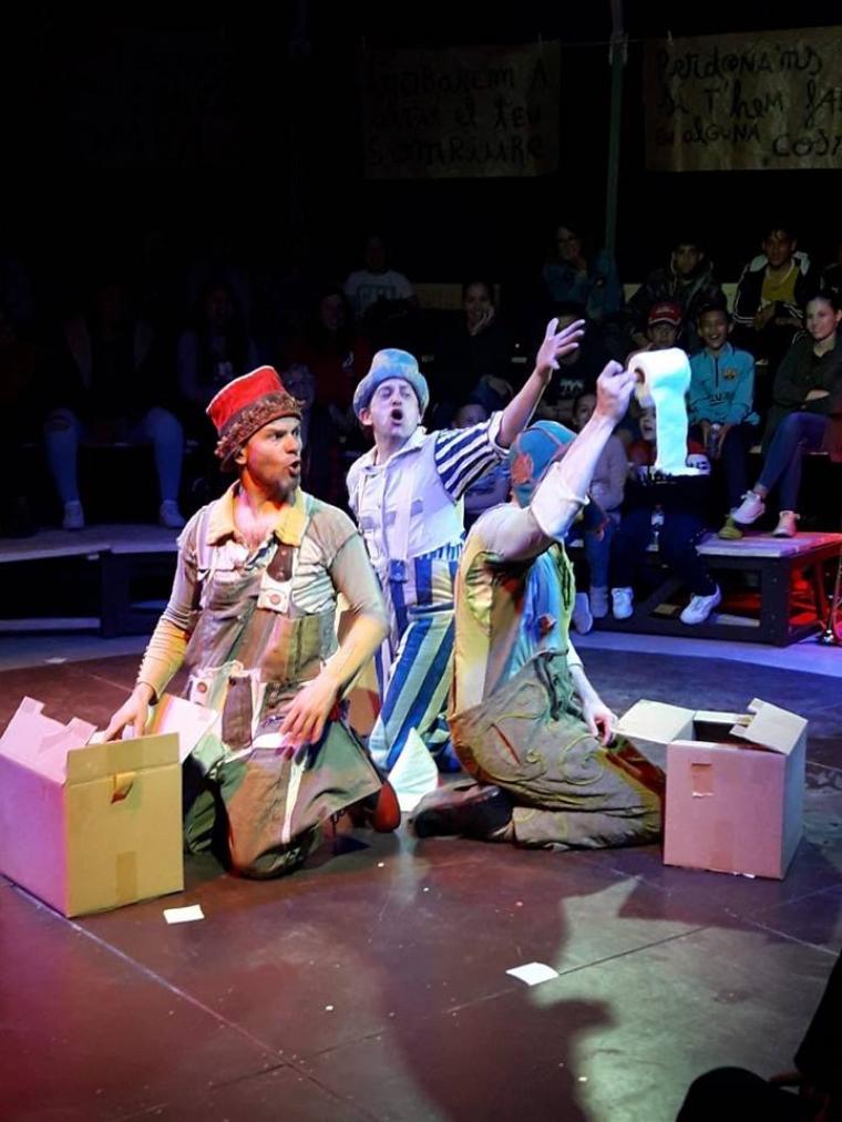 Obra de teatre de La Baldufa