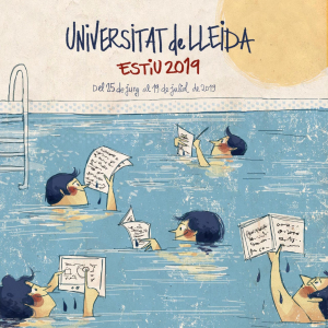 Cartell de la Universitat d'estiu de Roser Matas