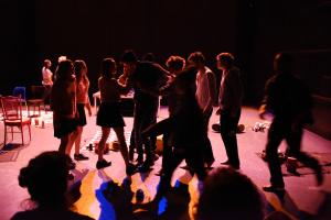 Classe de teatre a Lleida