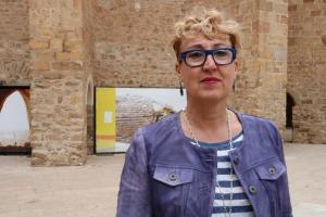 Imatge de la candidata a l'alcaldia de Tremp per ERC, Maria Pilar Cases