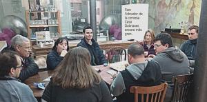 Imatge d'una reunió de la fundació